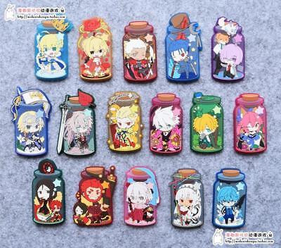 Fate Grand order FGO Lancer Cu chulainn Rubber Strap Phone Charm Keychain Gift