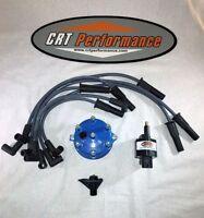 Jeep Wrangler Ignition Tune Up Kit Tj Yj 1994-1997 4.0l 242 Blue Cap