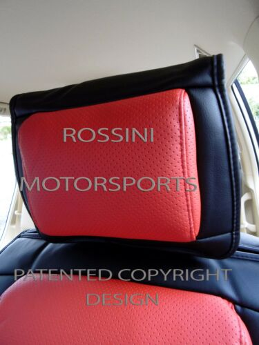 i SEAT COVERS YS06 RECARO SPORTS TO FIT A FORD FIESTA ST CAR RED // BLACK