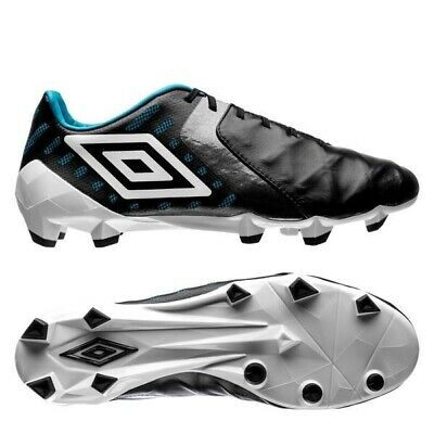 New UMBRO X-100 A HG Football Leather Soccer Shoes Cleats Men/'s US 8.5