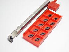 1 x barra de perforación s12m-sducr 07 + 10x placas de inflexión dcmt 070204-md p25 TiAlN top mercancía!