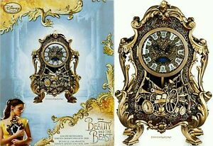Disney Store Beauty And The Beast Cogsworth Clock
