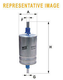WIX WF8373Car Fuel Petrol Filter Metal type pipe/thread Replaces- WK61446