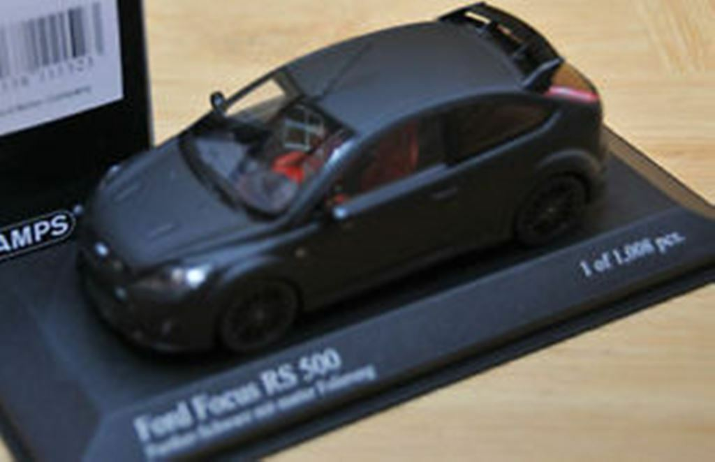 MINICHAMPS 088104, 088105 & 088106 FORD FOCUS RS500 & RS Modelll road Autos 1 43rd