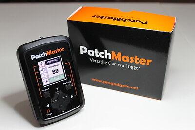 Patchmaster 4in1 Trigger Lightning Laser Sound Timelapse Canon 1D 5D 7D 40D 50D