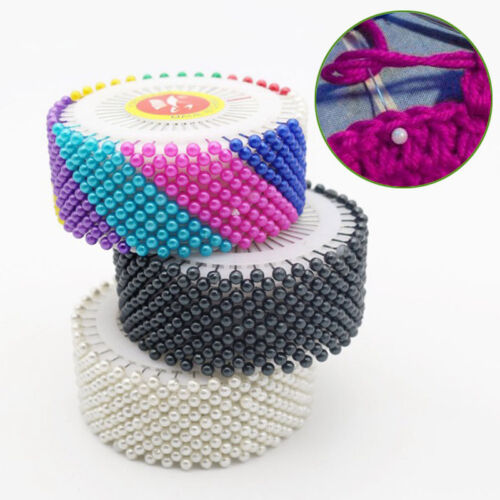 480x Nadeln Nadeln Perlnadeln Schmucknadeln Farbige Nadeln sky Fashion