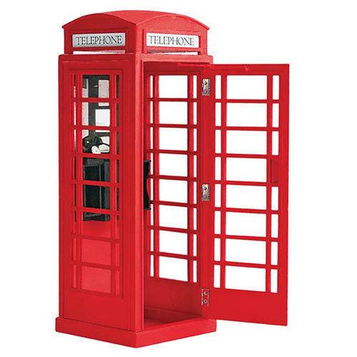 Crafts 20320. Model Cabina Phone English. N gauge building Kit mounting