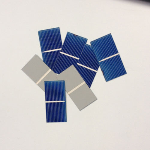 20pcs 52x26 mm solar cell cells battery charger poly solar panel DIY Test Good!