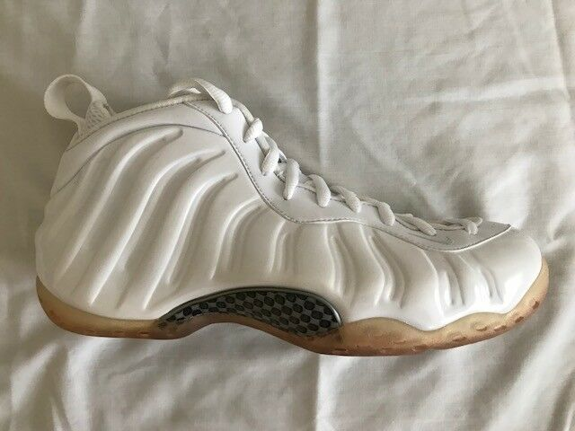 BRAND NEW DS 2018 NIKE AIR FOAMPOSITE ONE WHITE OUT 314996 100 SIZE 10 Seasonal price cuts, discount benefits