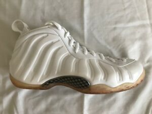 9d433b2461f7b BRAND NEW DS 2013 NIKE AIR FOAMPOSITE ONE WHITE OUT 314996 100 SIZE ...