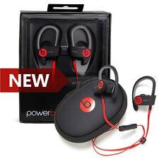 Beats Powerbeats 2 Wireless by Dr. Dre Bluetooth Sport Headphones GREY-RED NEW