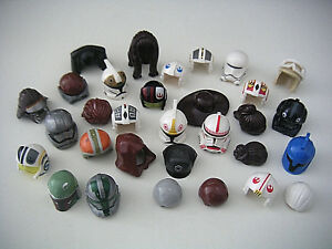 Lego-Star-Wars-Casques-coiffes-figurine-Minifig-Hair-Headgear-to-choose-NEUF-NEW