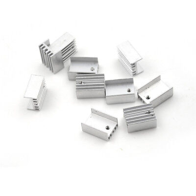 10pcs//lot 15*20mm TO-220 Dissipatore di calore Dissipatore di calore con Set di viti per computer TO-220