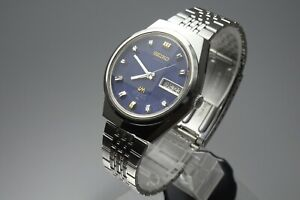 Vintage-1972-JAPAN-SEIKO-LORD-MATIC-SPECIAL-WEEKDATER-5206-6100-23J-Automatic