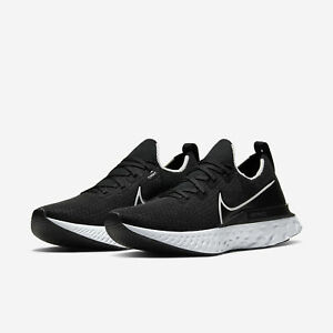 Details about NEW Nike React Infinity Run Flyknit Black/White 2020 4%  Running 2020 All NEW