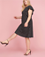 Lane-Bryant-Ruffle-Sleeve-Polka-Dot-Fit-Flare-Dress-Women-Plus-22-24-26-28-3x-4x thumbnail 1