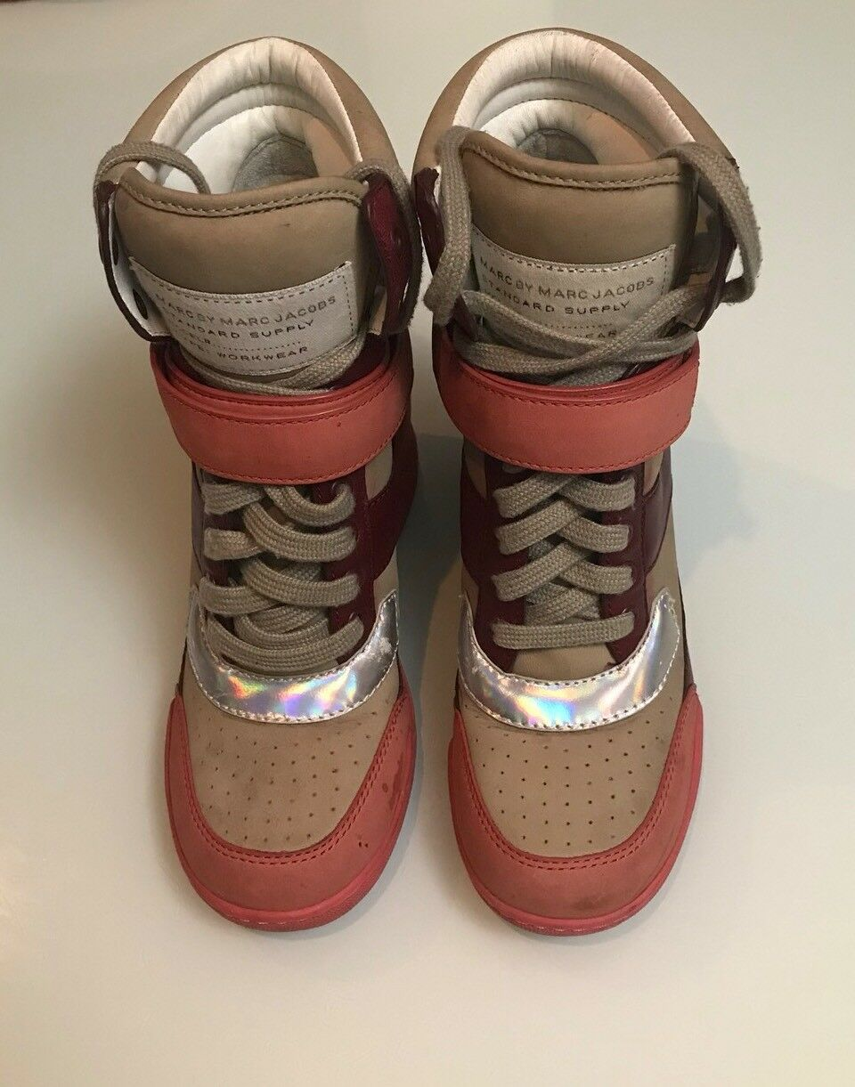 Marc By Marc Schuhes Jacobs High Top Sneakers Workwear Damens Schuhes Marc 36 Größe e079ed
