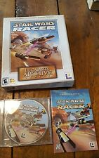 Star Wars: Racer -- LucasArts Archive Series (PC, 2001) Big Box Nice!