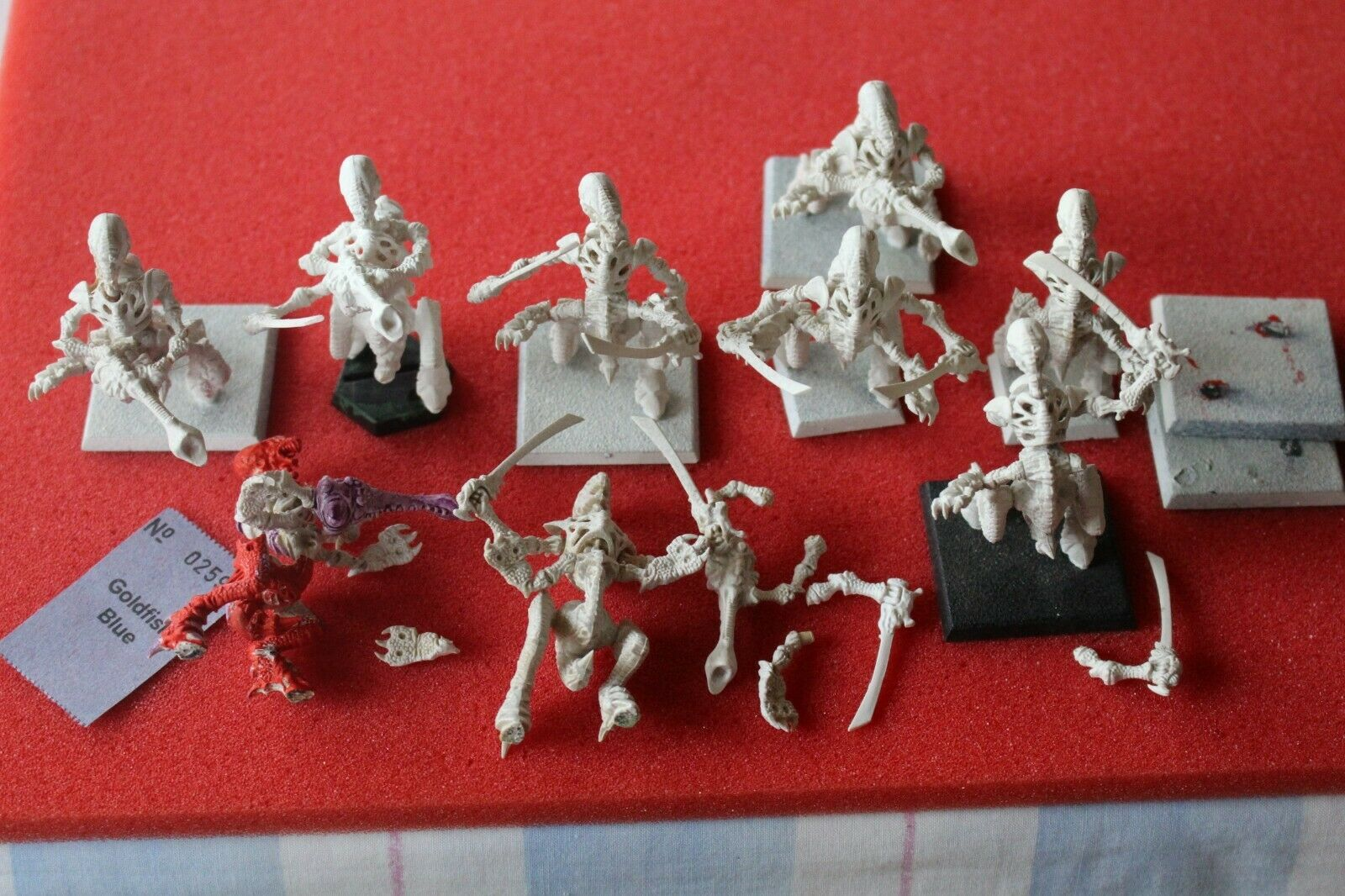Games Workshop Warhammer 40k Tyranides guerriers  Rogue Trader Era space crusade  grande vente