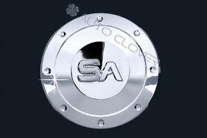 Details About Chrome Fuel Gas Cap Cover Molding 1p For 2001 2006 Hyundai Santa Fe