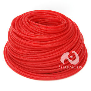 10 mètres shakmods round 4 mm de haute densité rouge foncé tressé extensible denture-afficher le titre d`origine RXx1Bg0Y-09154032-299367782