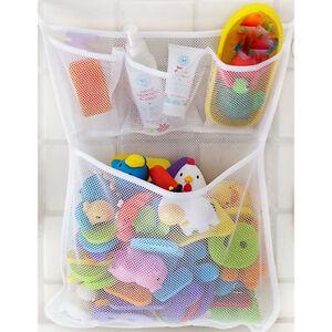 Fashion Baby Bath Bathtub Toy Mesh Net Storage Bag Organizer Holder Bathroom