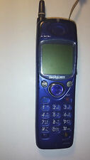 Docomo P158 Blue Cellular Phone As Is NOT WORKING