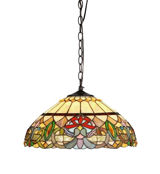 Tiffany Style Hanging Stained Gl Ceiling Pendant Light Lamp 18 Shade