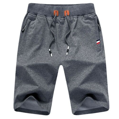 Summer Men/'s Casual Comfy Shorts Baggy Gym Sport Jogger Sweat Beach Pants UK