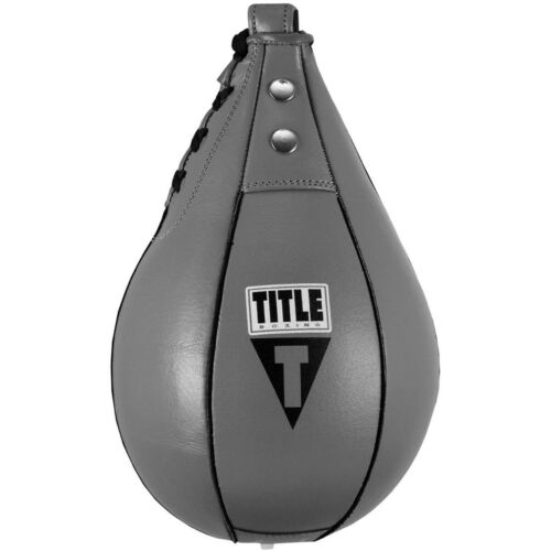 Title Boxing Super Fast Leather Speed Bag