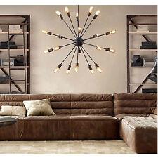 Vintage Edison Industrial Loft Ceiling Fixtures Lamp Bar DIY Chandelier Lights
