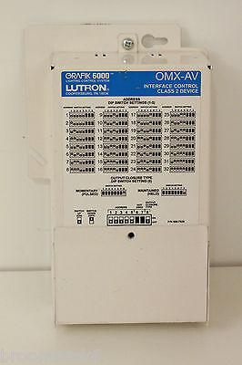 White A635 Lutron NTOMX-4S-WH 4 Button Switch