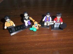 THE BEATLES MINI FIGURES SIMILAR TO THE LEGO YELLOW SUBMARINE BOX SET ONES FAB - Musselburgh, Midlothian, United Kingdom - THE BEATLES MINI FIGURES SIMILAR TO THE LEGO YELLOW SUBMARINE BOX SET ONES FAB - Musselburgh, Midlothian, United Kingdom