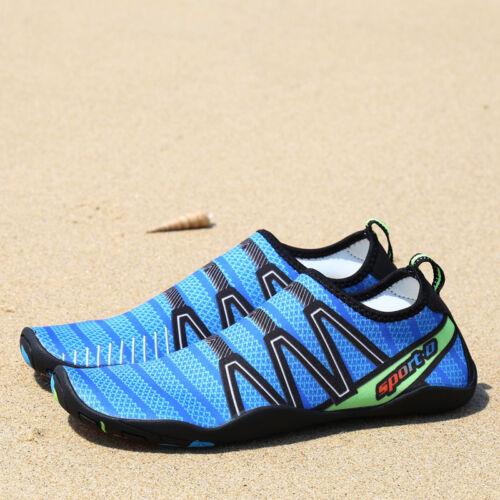 Men quick drying hot aqua water shoes Barefoot Aqua Socks Beach Swim Pool shoe