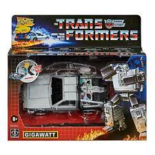Transformers Gigawatt Back to The Future Delorean BTTF 35th G1