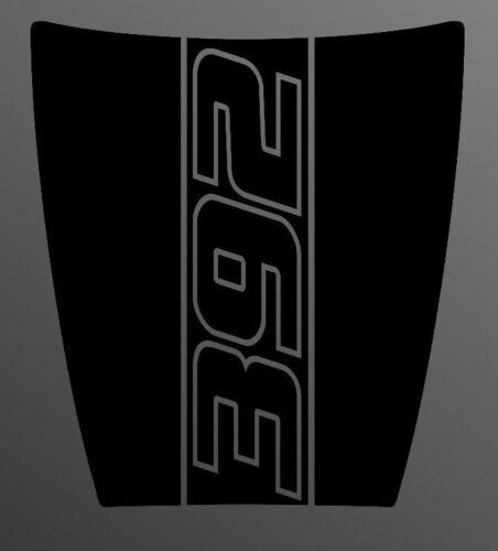 Dodge Charger 392 Daytona Style Hood Decal Scat Pack 2015-2019 MOPAR SRT