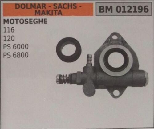 Pump Oil Chainsaw Dolmar Sachs Makita 116 120 PS6000 PS6800