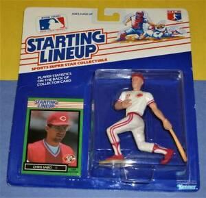 1989 CHRIS SABO Cincinnati Reds Rookie NM- #17 *FREE_s/h* Starting Lineup