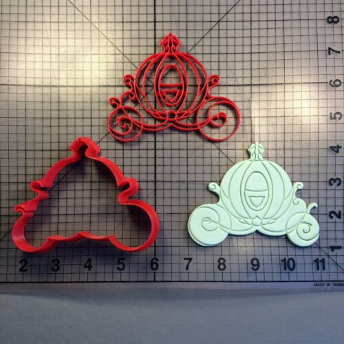 Carriage 100 Cookie Cutter and Stamp