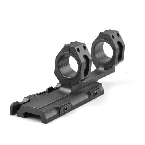 Heavy Duty 25mm-30mm Ring Cantilever Scope Mount QD Lock Picatinny 20mm Rail