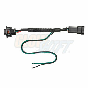 Details about GlowShift Fuel Rail Pressure PSI Gauge Pigtail Wiring on