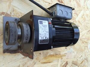 Bodine Electric 42r5bfs1 E2 Gear Motor 15 1 115v 60hz 1