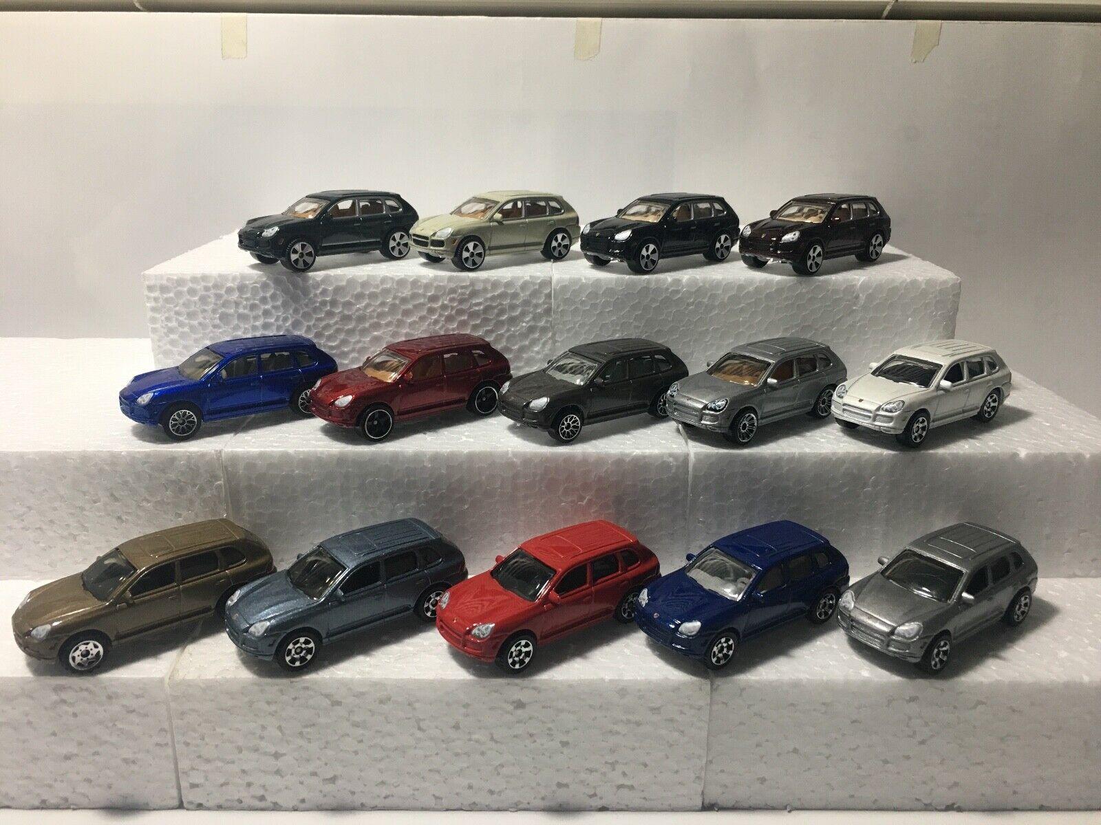 Matchbox Porsche Cayenne Turbo set of 14