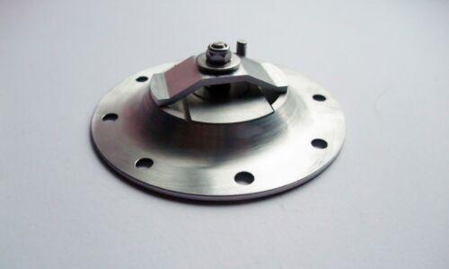 Aero 120mm X 8 aleación de montaje al ras Carrera Tanque De Combustible Tapa De Gasolina-no bloqueo-Kit de coche