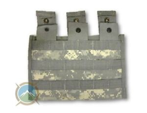 USGI-ACU-Triple-Mag-Pouch-MOLLE-Military-30RD-Magazine-Pocket-NEW