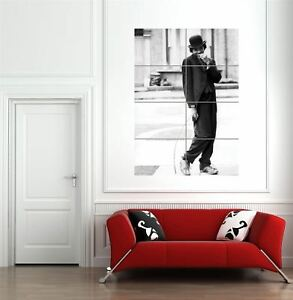 Image Is Loading Michael Jackson Charlie Chaplin Giant Wall Art New
