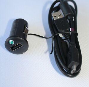 Sony-Ericsson-AN400-KFZ-Ladekabel-Sony-Ericsson-EC450-usb-Datenkabel