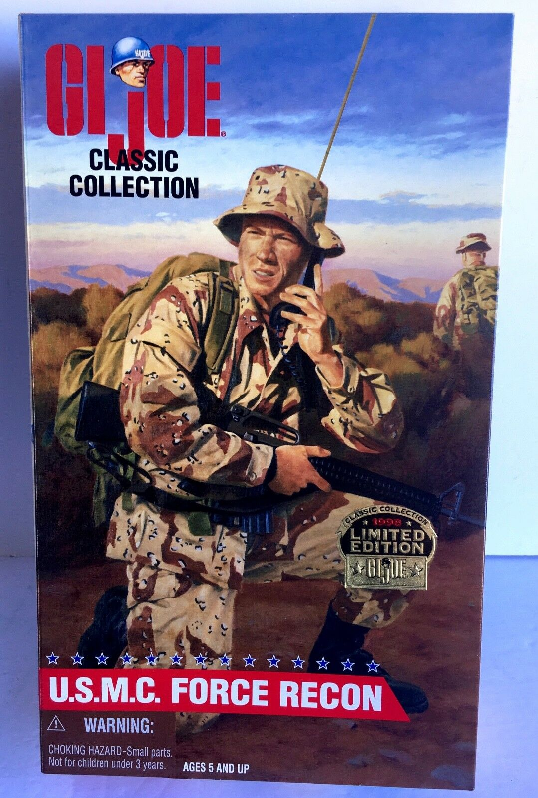 G.I.Joe U.S.M.C. FORCE RECON Limited Edition GJ-12