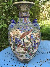 Vase Japonais Asiatique Antique Ancien Japanese