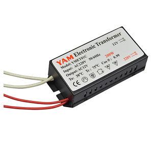 200w 220v 12v Led Halogen Light Bulb Lamp Power Supply Electronic